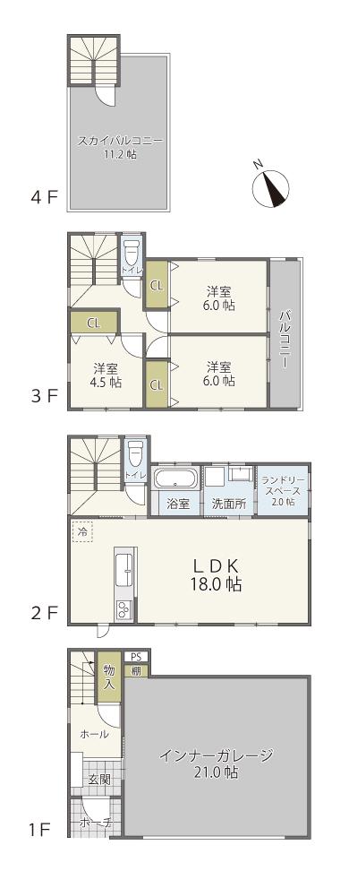 宇宿2丁目 新築戸建