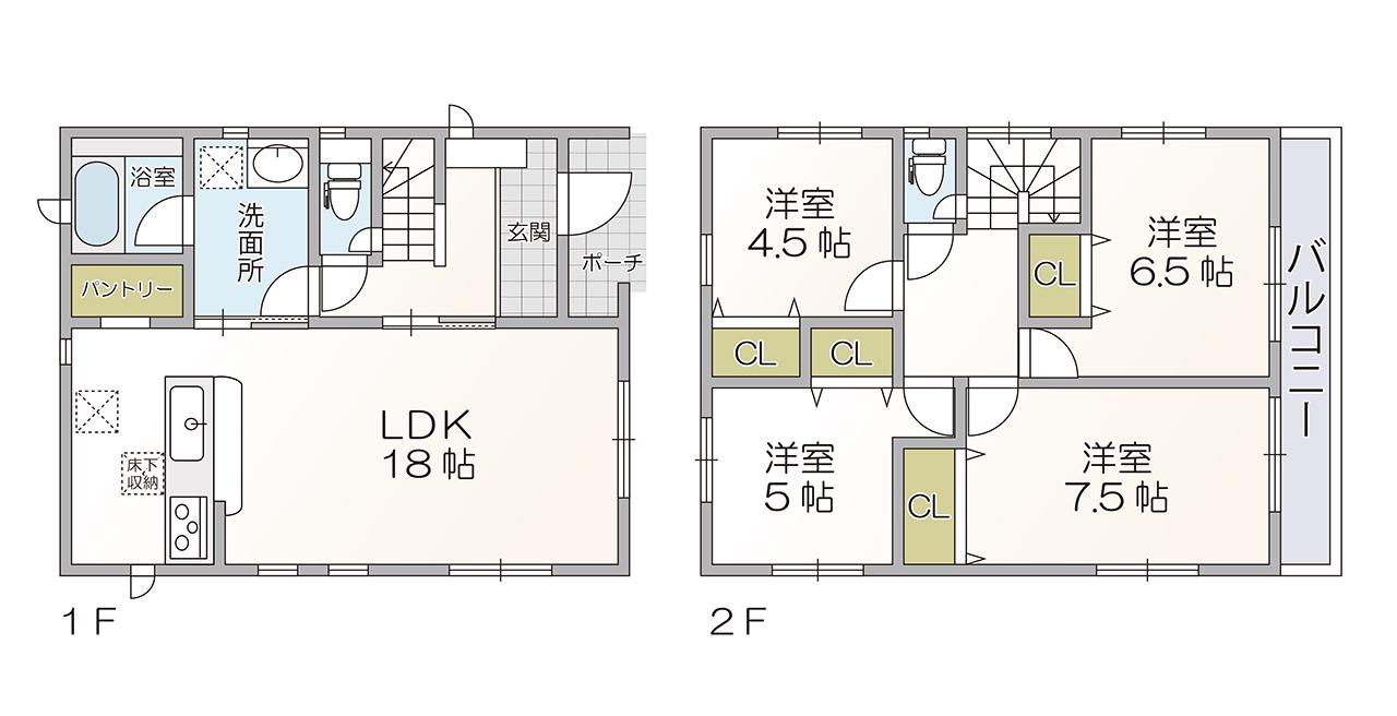 錦江台1丁目 新築戸建