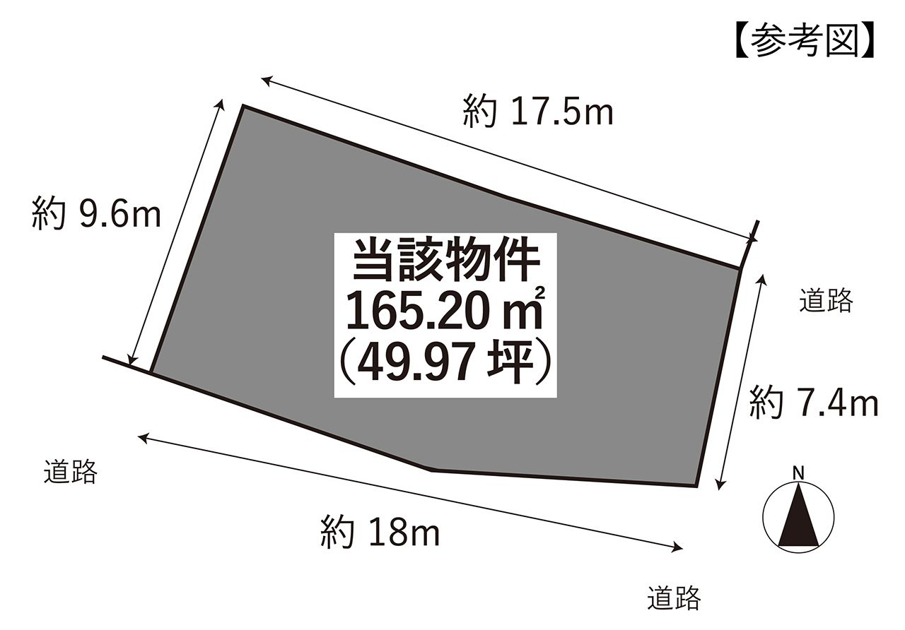 坂元町 土地